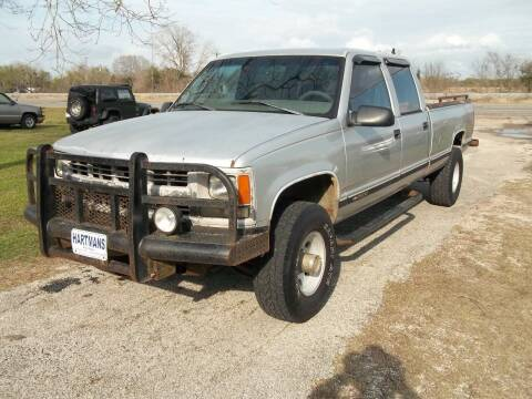 1997 Chevrolet C/K 3500 Series for sale at Hartman's Auto Sales in Victoria TX