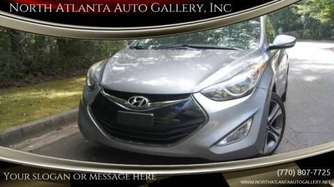 2013 Hyundai Elantra Coupe for sale at North Atlanta Auto Gallery, Inc in Alpharetta GA