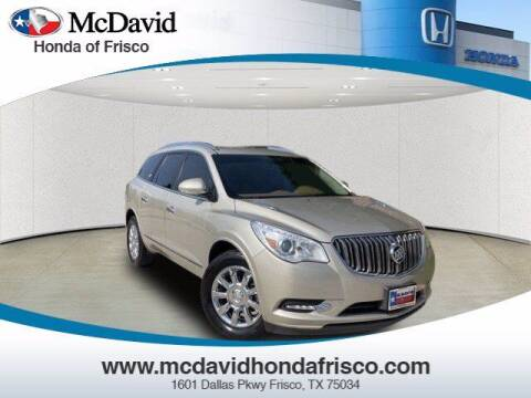 2015 Buick Enclave for sale at DAVID McDAVID HONDA OF IRVING in Irving TX