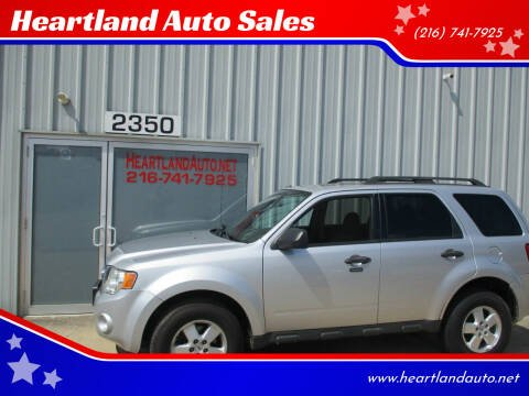 2012 Ford Escape for sale at Heartland Auto Sales in Medina OH