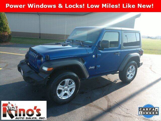 2020 Jeep Wrangler for sale at Rino's Auto Sales in Celina OH