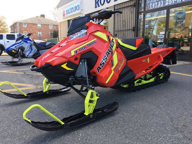 2021 Polaris 850 ASSAULT 144 SWITCHBACK AXY for sale at ROUTE 3A MOTORS INC in North Chelmsford MA