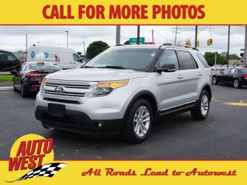 2014 Ford Explorer for sale at Autowest of Plainwell in Plainwell MI