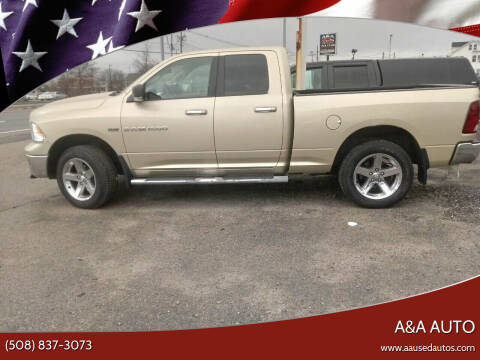 2011 RAM Ram Pickup 1500 for sale at A&A AUTO in Fairhaven MA