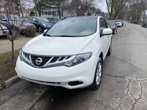 2014 Nissan Murano for sale at CLASSIC MOTOR CARS in West Allis WI