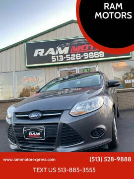 2013 Ford Focus for sale at RAM MOTORS in Cincinnati OH