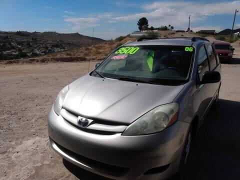 2006 Toyota Sienna for sale at Hilltop Motors in Globe AZ