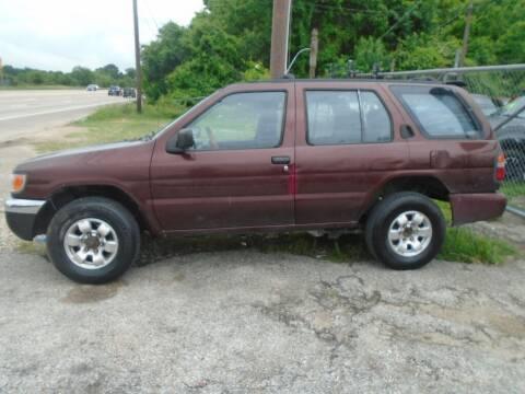 1998 Nissan Pathfinder for sale at SCOTT HARRISON MOTOR CO in Houston TX