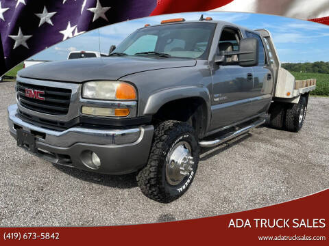 2007 GMC Sierra 3500 Classic for sale at Ada Truck Sales in Ada OH