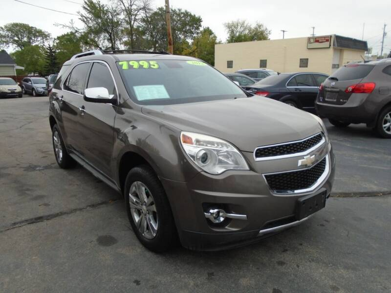 2012 Chevrolet Equinox for sale at DISCOVER AUTO SALES in Racine WI
