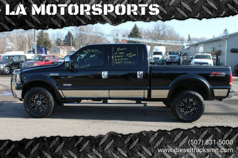 2007 Ford F-350 Super Duty for sale at LA MOTORSPORTS in Windom MN