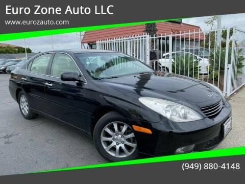 2003 Lexus ES 300 for sale at Euro Zone Auto in Stanton CA