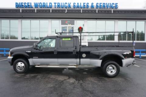 2004 Ford F-350 Super Duty for sale at Diesel World Truck Sales in Plaistow NH