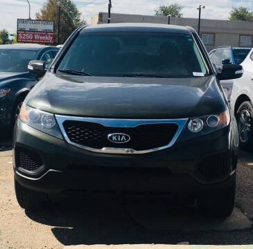 2012 Kia Sorento for sale at First Class Motors in Greeley CO