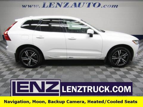 2020 Volvo XC60 for sale at LENZ TRUCK CENTER in Fond Du Lac WI
