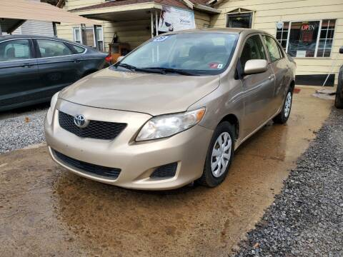 2009 Toyota Corolla for sale at Auto Town Used Cars in Morgantown WV