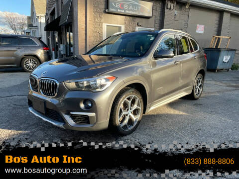 2018 BMW X1 for sale at Bos Auto Inc in Quincy MA
