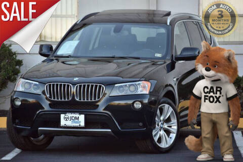 2013 BMW X3 for sale at JDM Auto in Fredericksburg VA
