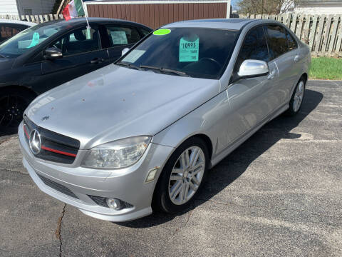 2009 Mercedes-Benz C-Class for sale at PAPERLAND MOTORS - Fresh Inventory in Green Bay WI