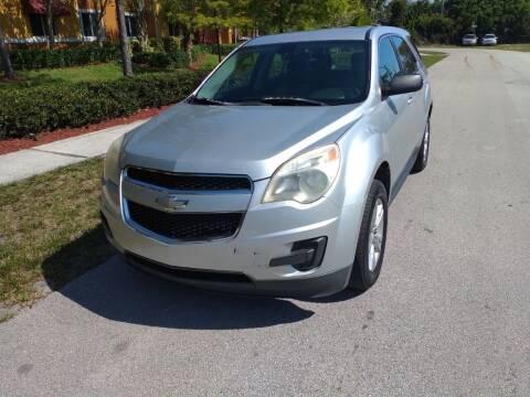 2011 Chevrolet Equinox for sale at LAND & SEA BROKERS INC in Deerfield FL