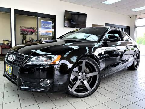 2010 Audi A5 for sale at SAINT CHARLES MOTORCARS in Saint Charles IL