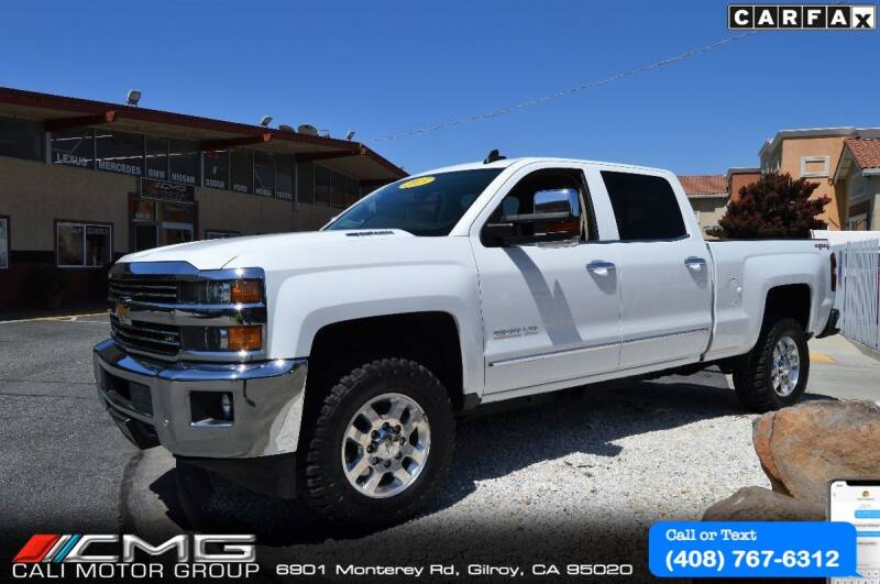 2015 Chevrolet Silverado 2500HD for sale at Cali Motor Group in Gilroy CA