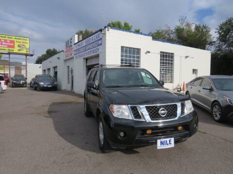 2010 Nissan Pathfinder for sale at Nile Auto Sales in Denver CO