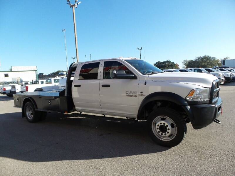2018 RAM Ram Chassis 5500 4X4 4dr Crew Cab 197.1 in. WB - Houston TX