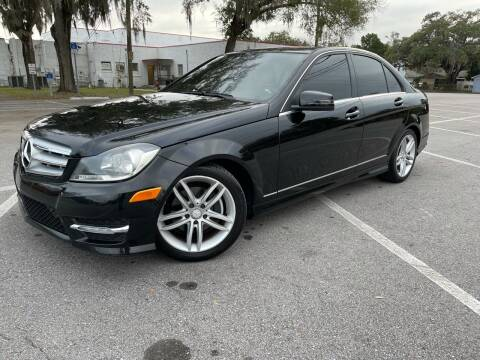2012 Mercedes-Benz C-Class for sale at CHECK  AUTO INC. in Tampa FL