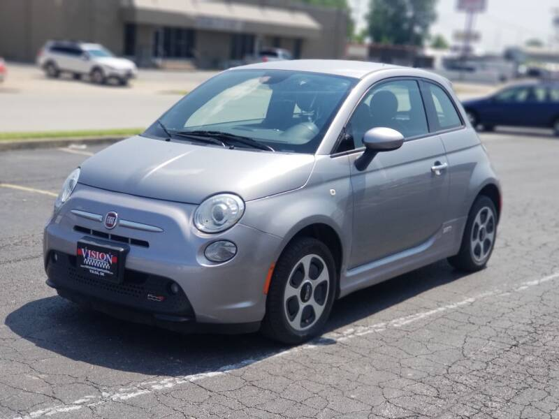 2015 FIAT 500e for sale at Vision Motorsports in Tulsa OK