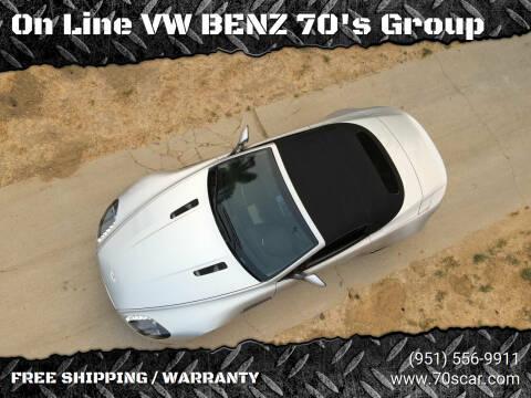 2008 Aston Martin V8 Vantage for sale at OnLine VW-BENZ.COM Auto Group in Riverside CA