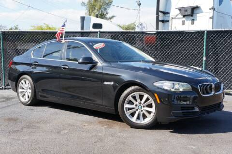 2014 BMW 5 Series for sale at MATRIX AUTO SALES INC in Miami FL