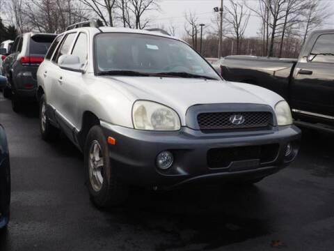 2004 Hyundai Santa Fe for sale at Buhler and Bitter Chrysler Jeep in Hazlet NJ
