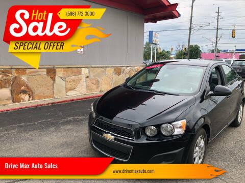 2012 Chevrolet Sonic for sale at Drive Max Auto Sales in Warren MI