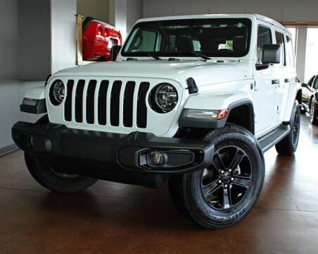 2020 Jeep Wrangler Unlimited for sale at Motion Auto Sport in North Canton OH