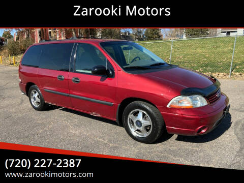 2002 Ford Windstar for sale at Zarooki Motors in Englewood CO
