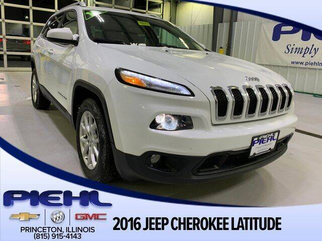 2016 Jeep Cherokee for sale in Princeton, IL