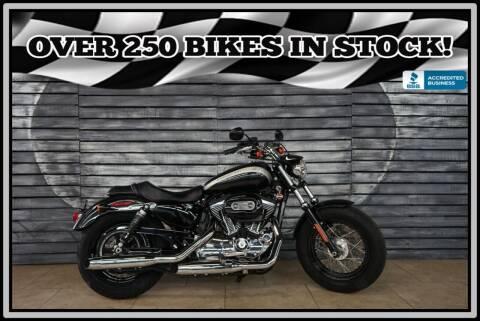 2018 Harley-Davidson XL1200C Custom for sale at AZMotomania.com in Mesa AZ