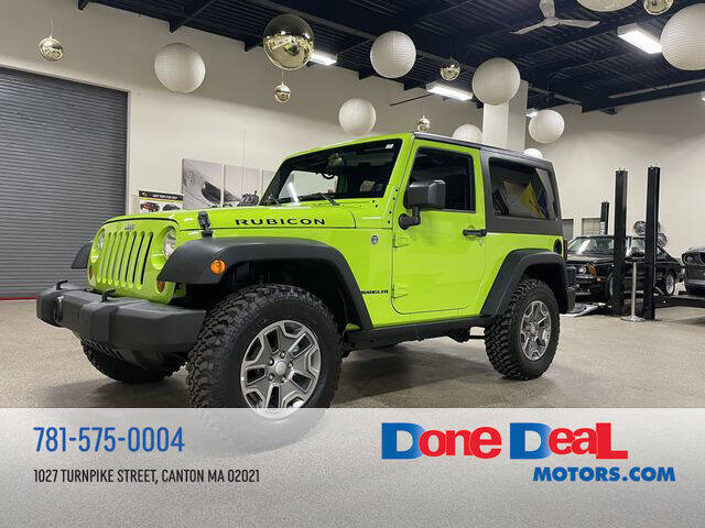2013 Jeep Wrangler for sale at DONE DEAL MOTORS in Canton MA