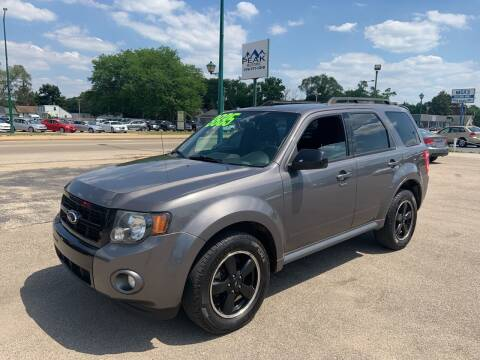 2011 Ford Escape for sale at Peak Motors in Loves Park IL