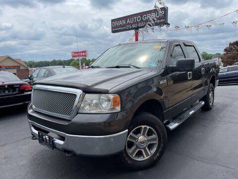 2007 Ford F-150 for sale at Divan Auto Group in Feasterville PA