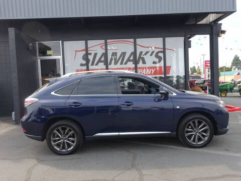 2013 Lexus RX 350 for sale at Siamak's Car Company llc in Salem OR