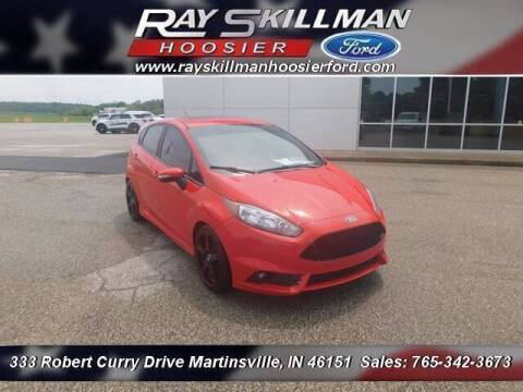 2015 Ford Fiesta for sale at Ray Skillman Hoosier Ford in Martinsville IN