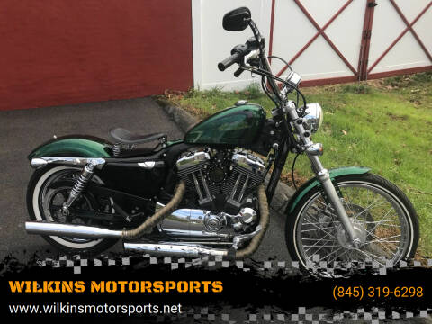 2013 Harley-Davidson Sportster Seventy-Two for sale at WILKINS MOTORSPORTS in Brewster NY