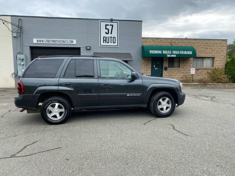 2003 Chevrolet TrailBlazer for sale at 57 AUTO in Feeding Hills MA