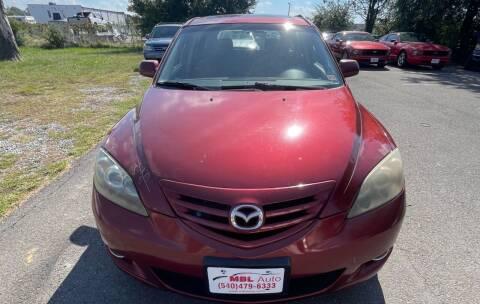 2006 Mazda MAZDA3 for sale at MBL Auto in Fredericksburg VA