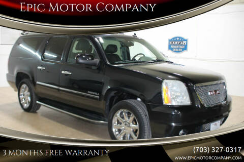 2012 GMC Yukon XL for sale at Epic Motor Company in Chantilly VA