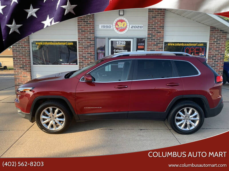 2016 Jeep Cherokee for sale at Columbus Auto Mart in Columbus NE
