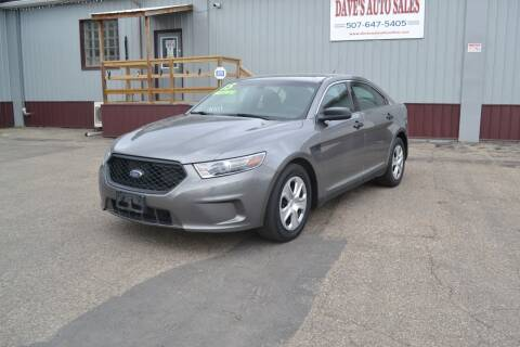 2015 Ford Taurus for sale at Dave's Auto Sales in Winthrop MN