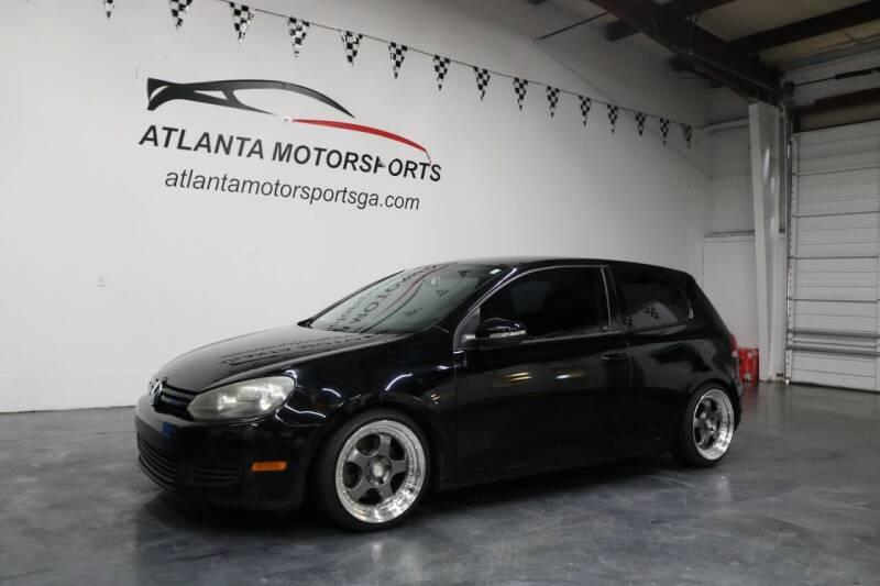 2010 Volkswagen Golf for sale at Atlanta Motorsports in Roswell GA